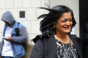 "Representative Pramila Jayapal (D-WA, 7):  Trump lumps her with House ""losers"" and ""radical left haters."""