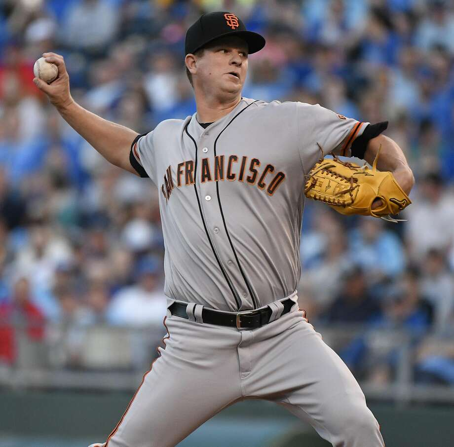 Matt Cain has a $21 million team option for 2018, with a $7.5 million buyout. Photo: Ed Zurga, Getty Images