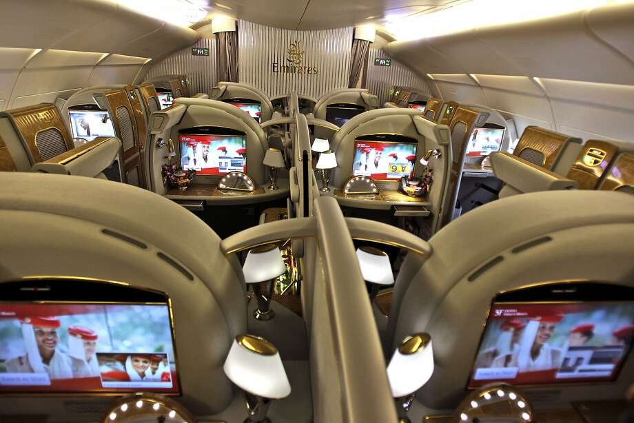 Emirates, the Middle East's biggest airline, is reducing flights to the U.S. because of a drop in demand. Photo: Kamran Jebreili, Associated Press