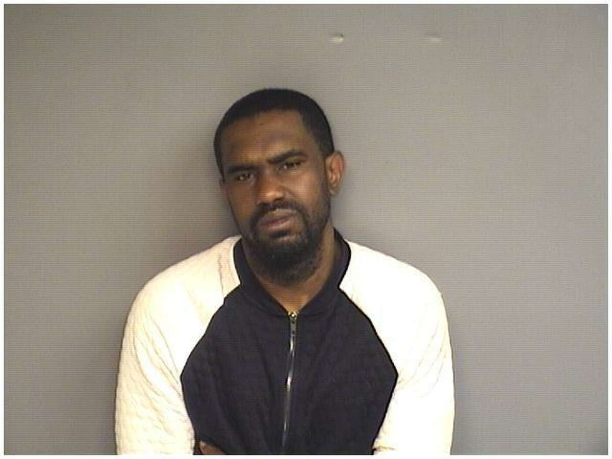 Darrell Grimes, 31, of Stamford, was charged with numerous drug and gun charges following a raid at America's Best Value Inn Tuesday evening in Stamford.