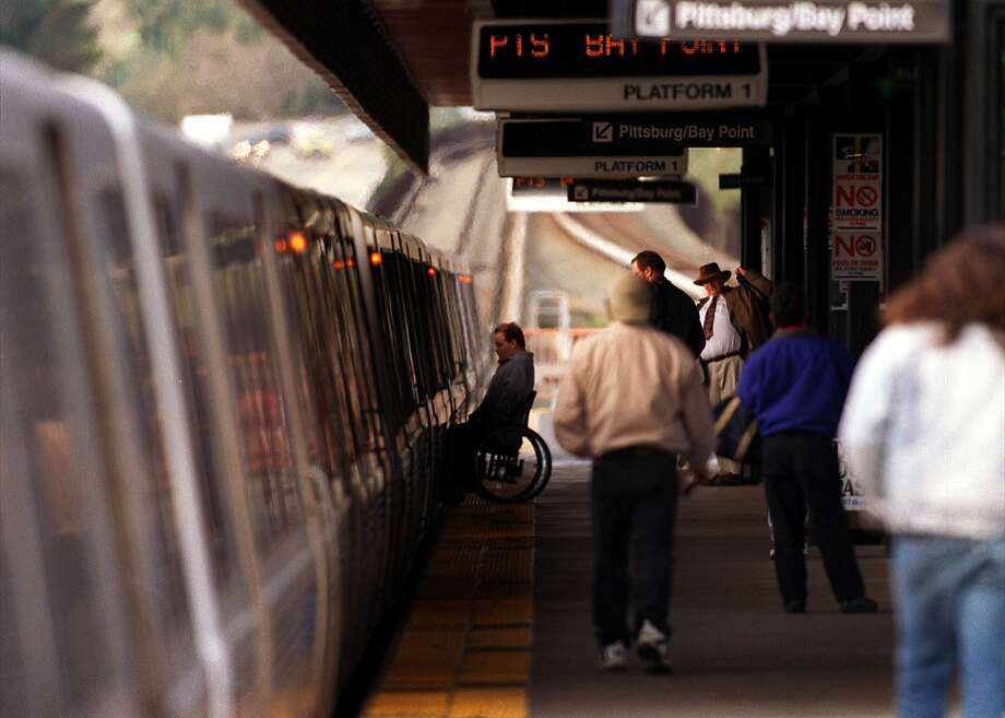 BART service through Walnut Creek was temporarily suspended Wednesday due to a suicide attempt, officials said. Photo: SAM DEANER, STAFF