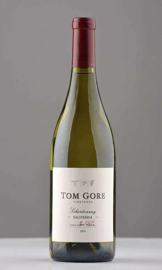 Tom Gore chardonnay, California on Wednesday, March 8, 2017, at the Times Union in Colonie, N.Y. (Will Waldron/Times Union) Photo: Will Waldron