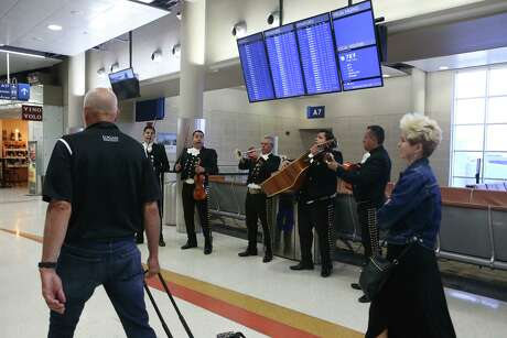 Passengers may like being greeted by mariachis at San Antonio International, but they really appreciate clean restrooms.
