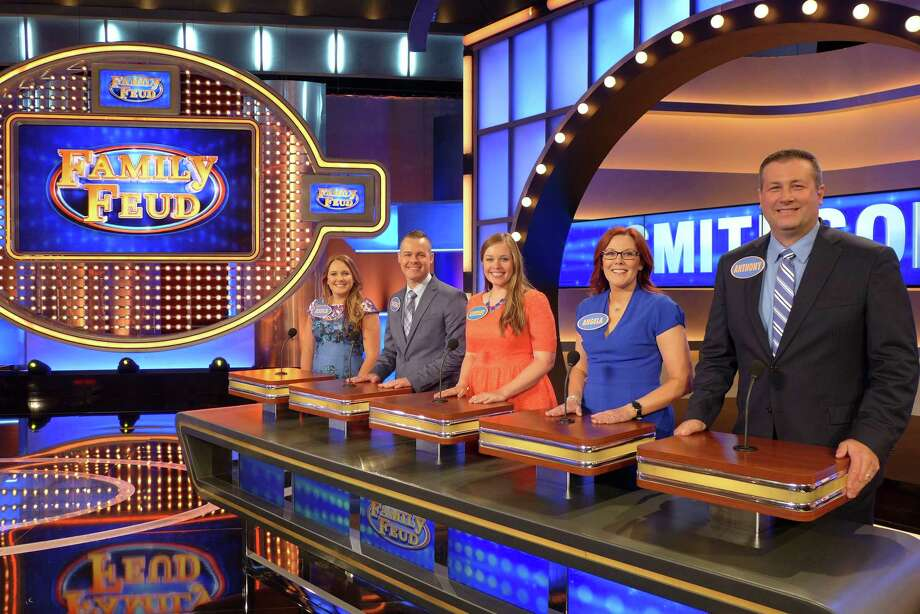 Local Humble family on Family Feud. Photo: Courtesy Photo