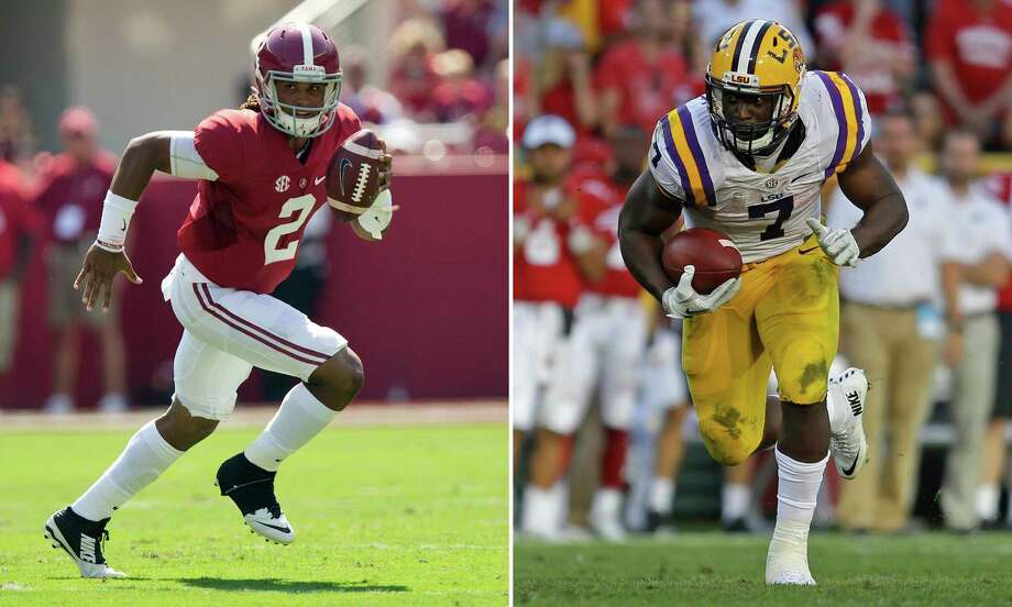 8079b03b6e LSU's Leonard Fournette likely will be the first running back drafted.  Photo: