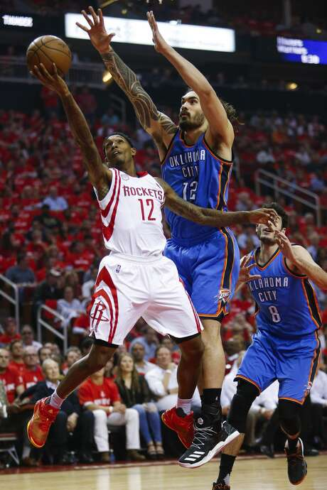 Lou Williams (12) played a key role in the Rockets' Game 2 win over Oklahoma City on Wednesday. The Rockets will need more contributions like that from their supporting cast throughout the playoffs.Click through the gallery to see more photos from this year's playoffs. Photo: Michael Ciaglo/Houston Chronicle