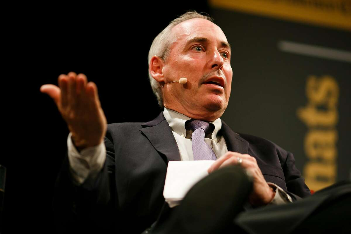 Political Analyst and Professor of Communication at UC-Berkeley, Dan Schnur, talks during the �Chronicle Chats� at Herbst Theater in San Francisco, Calif. Wednesday, April 19, 2017.