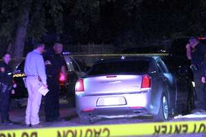 Officers responded to the shooting around 11:50 p.m. on April 19, 2017, near Castroville Road and General McMullen Drive, where they found the victim, who is around 15 or 16 years old, lying in the grass next to a car with a bullet hole in it.