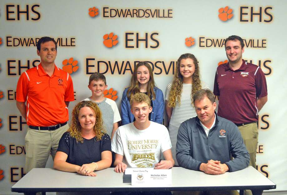 BOYS' VOLLEYBALL: Allen to continue career at Robert Morris - The