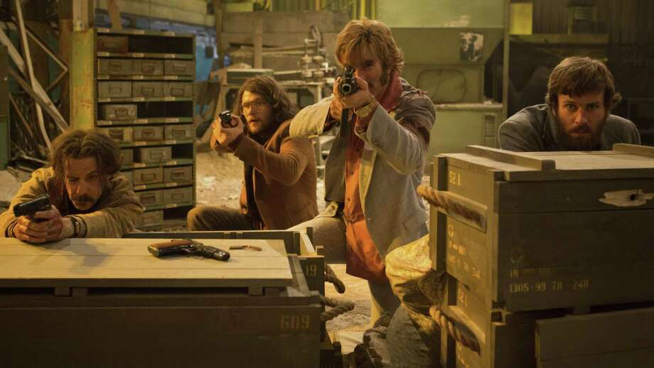 """""""Free Fire,"""" a throwback to '70s action films, is about two-thirds shootout. Photo: A24 / A24"""
