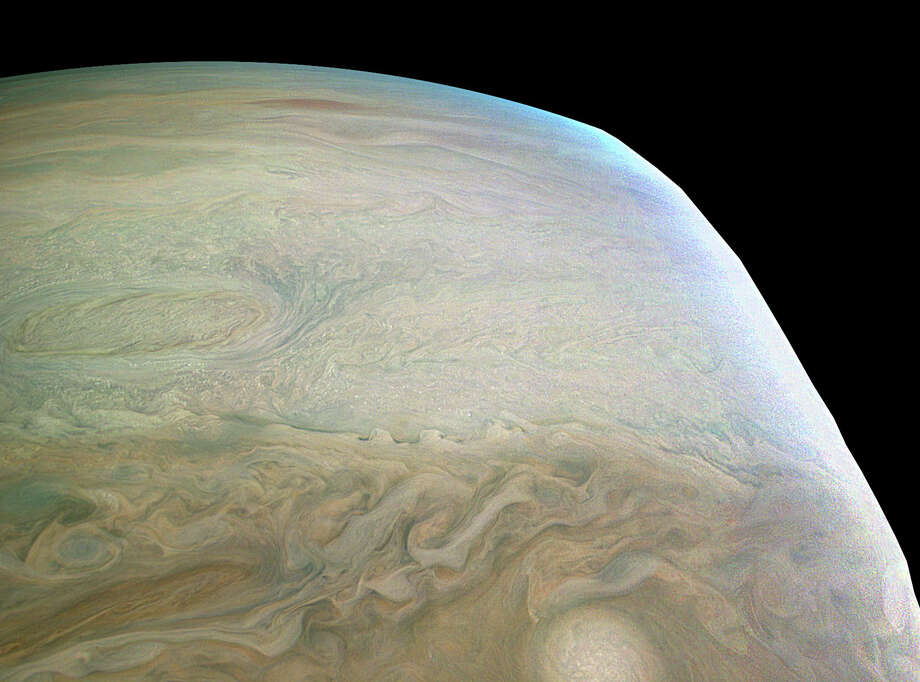 Click through to see other amazing images of Jupiter snapped by Juno.NASA's Juno space probe recently snapped a stunning close up image of Jupiter.