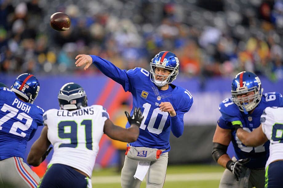 10. Eli ManningAverage annual salary: $21,000,000 Photo: Icon Sports Wire/Corbis Via Getty Images