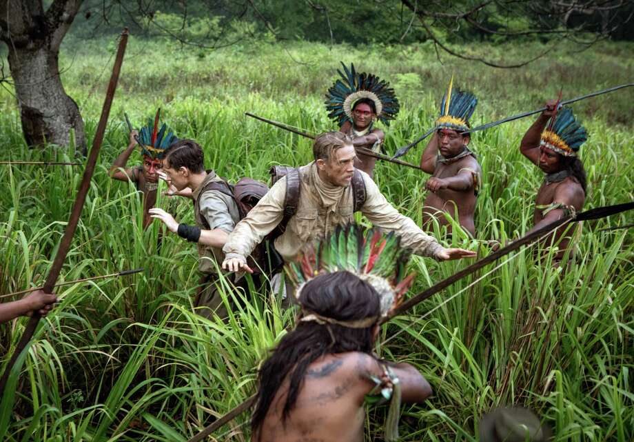 "The Amazon inhabitants may have the right idea here in a scene from ""The Lost City of Z."" Photo: Amazon Studios /Bleecker Street Films / 2016 LCOZ HOLDINGS, LLC"