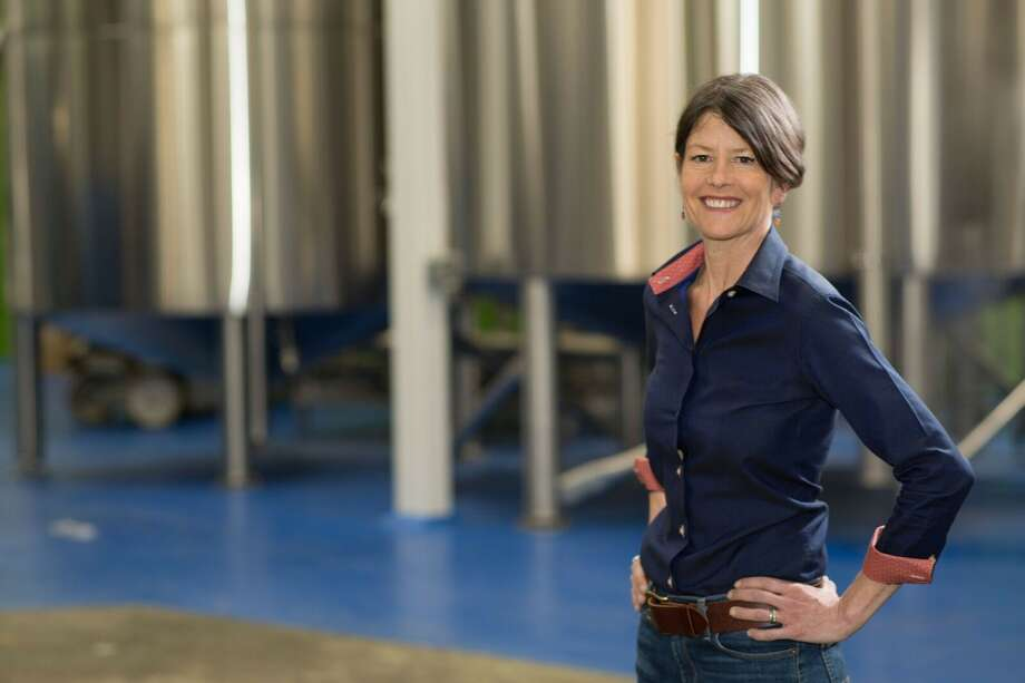 Fremont Brewing Co. co-founder Sara Nelson, running for Seattle City Council District 8. She narrowly trails Jon Grant for a position in the finals, a result that hinges on votes not yet counted.  Photo: Campaign Photo