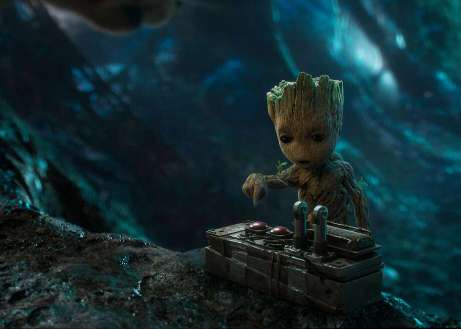 """Guardians of the Galaxy Vol. 2"" may climb the lists, with the adorable assistance of Baby Groot. Photo: Marvel Studios / Walt Disney Studios"