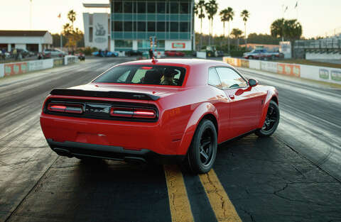 Is the Dodge Demon — a muscle car so powerful it can pop