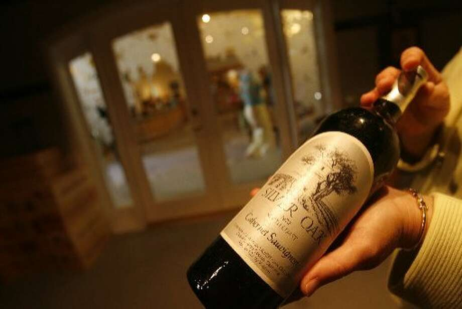 A bottle of Silver Oak Cabernet Sauvignon. The owners of the Napa Valley's Silver Oak and Twomey wineries have purchased Ovid, an estate vineyard and winery in St. Helena's Pritchard Hill. Photo: Eric Luse/The Chronicle