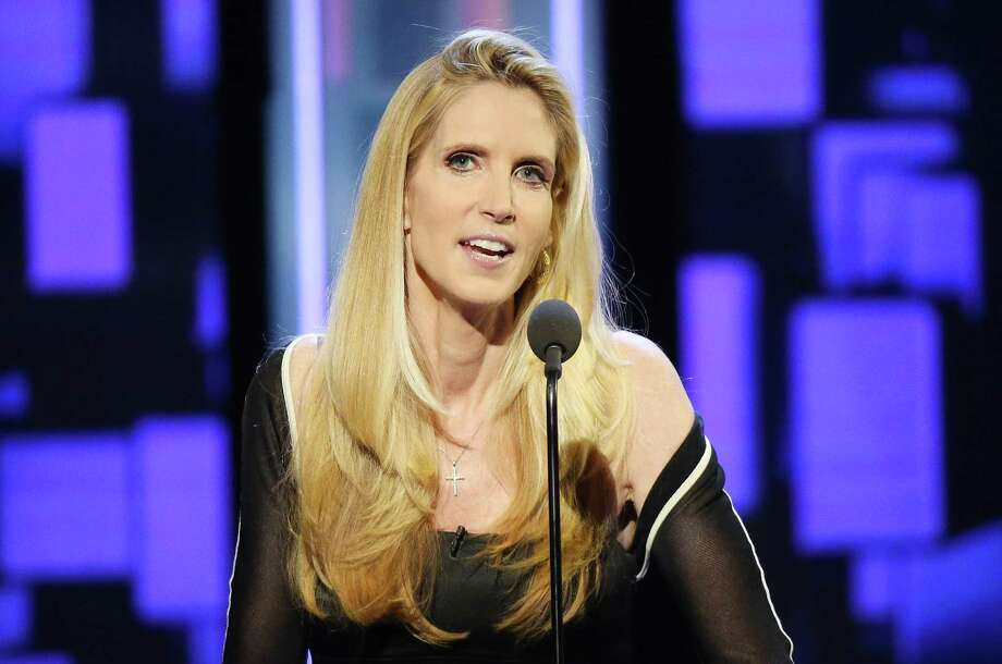 Ann Coulter speaks onstage during The Comedy Central Roast of Rob Lowe held at Sony Studios on August 27, 2016 in Los Angeles, California. Photo: Michael Tran / FilmMagic / 2016 Michael Tran