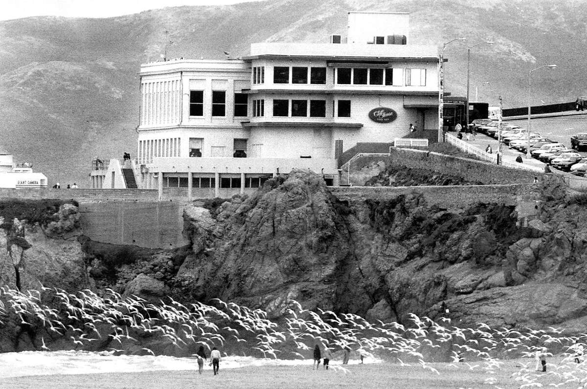 San Francisco's Cliff House. July 31, 1992