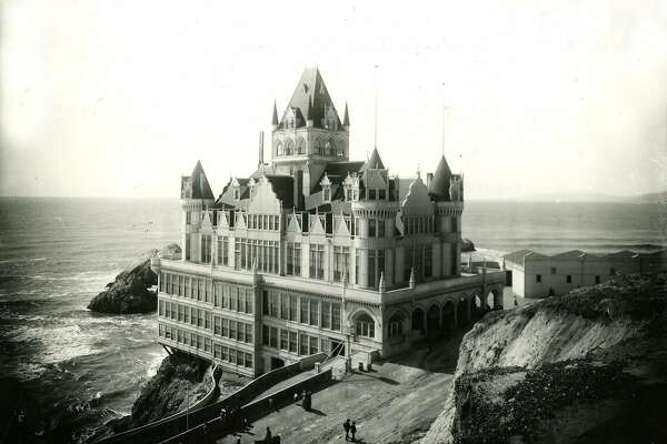 The third Cliff House in San Francisco, opened February 1, 1896, burned September 7, 1907.