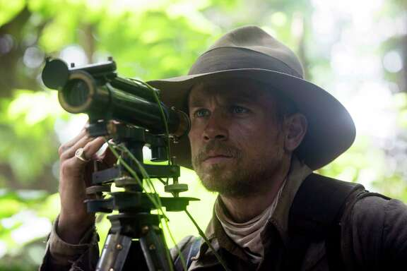 "This image released by Amazon Studios/Bleecker Street Films shows Charlie Hunnam in a scene from ""The Lost City of Z."" (Aidan Monaghan/Amazon Studios/Bleecker Street via AP)"