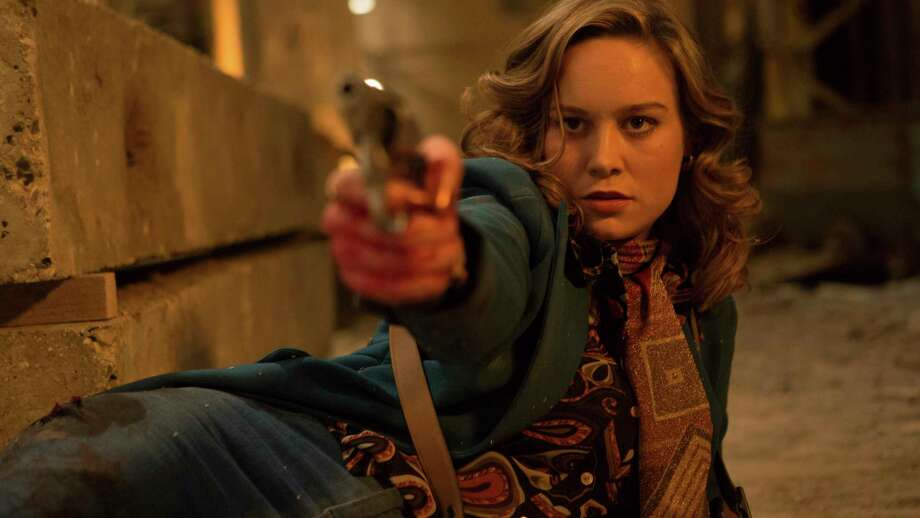 """This image released by A24 shows Brie Larson in a scene from """"Free Fire."""" (Kerry Brown/A24 via AP) Photo: Kerry Brown, HONS / A24"""
