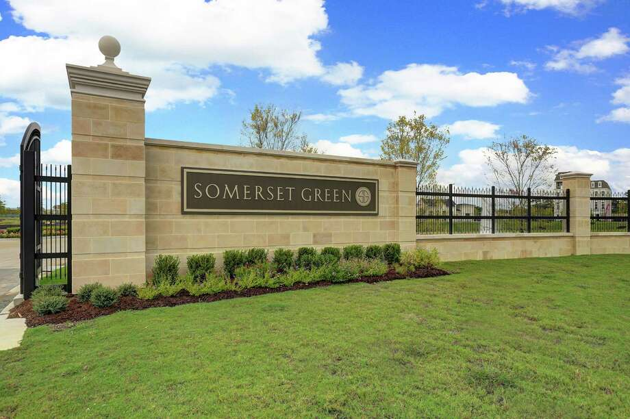 Starting at 2,200 square feet, the new two-story homes at Somerset Green feature open-concept floor plans with kitchens, living and dining on the first floor.