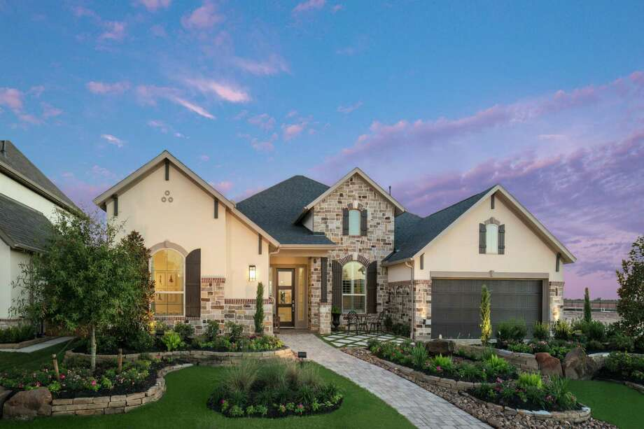 Elyson has new plans priced from the low $400,000s by Darling and Trendmaker (shown). Ten fully furnished models are showcased along with homes ready for quick move-in. Elyson is located at Grand Parkway and FM 529 in the Katy Independent School District.