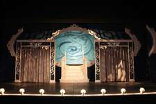 """For the 2010 Curtain Call production of """"Hello, Dolly!,"""" Peter Barbieri envisioned an all-white set, from the backdrops to props."""