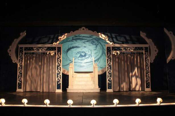 "For the 2010 Curtain Call production of ""Hello, Dolly!,"" Peter Barbieri envisioned an all-white set, from the backdrops to props."
