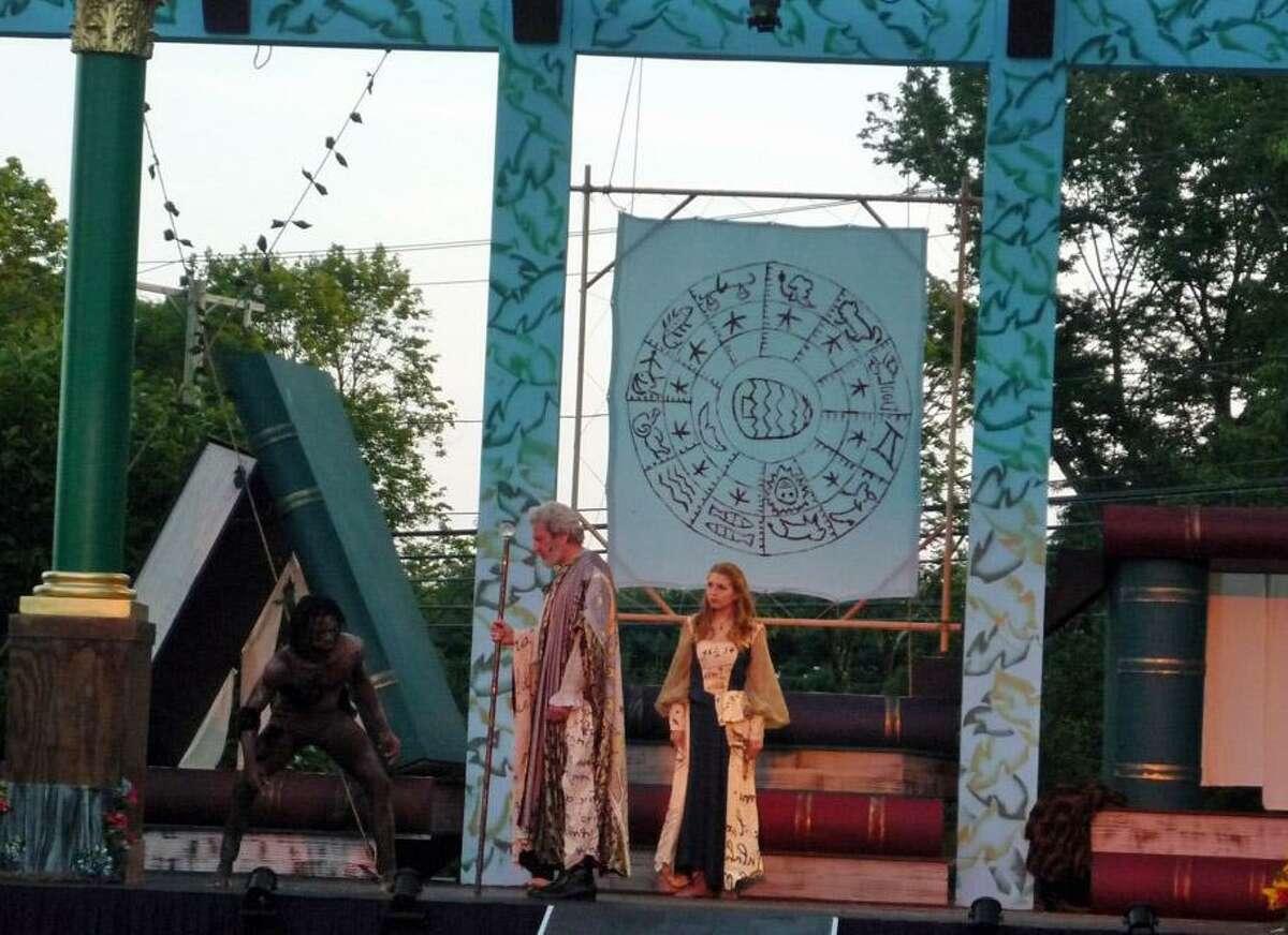 Shakespeare on the Green, Curtain Call's outdoor Shakespeare theater program, put on