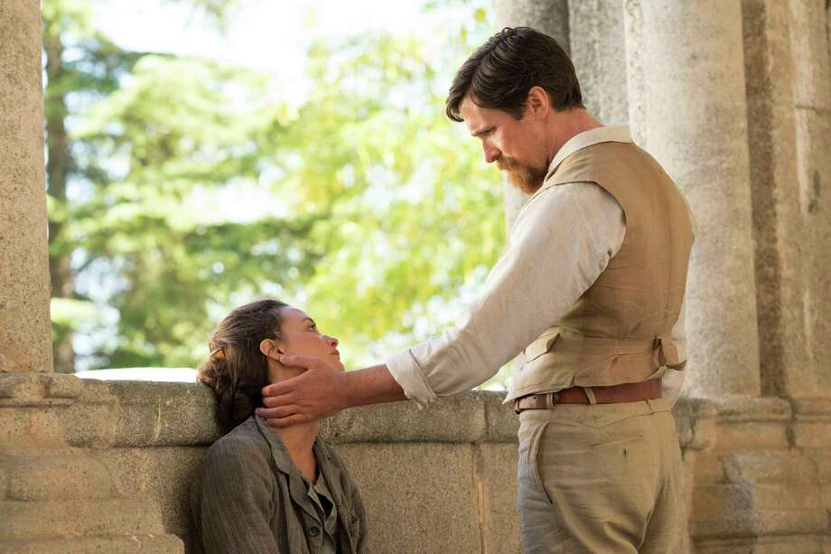 "This image released by Open Road Films shows Charlotte Le Bon, left, and Christian Bale in a scene from ""The Promise."" (Jose Haro/Open Road Films via AP) ORG XMIT: NYET815 Photo: Jose Haro / ©joseharo"
