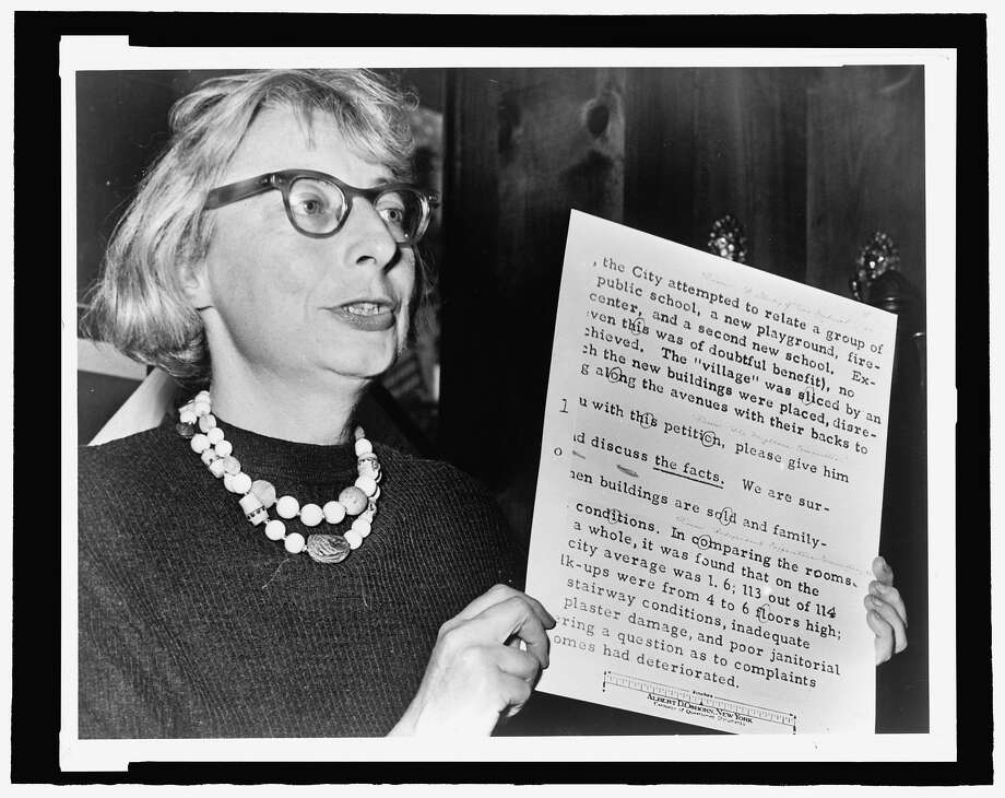 "Writer and activist Jane Jacobs, who took on New York City planning czar Robert Moses, in ""Citizen Jane: Battle for the City."" Photo: IFC Films"