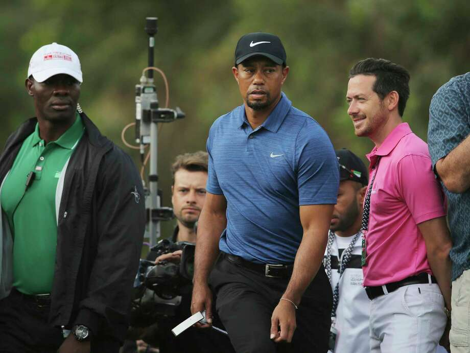 Tiger Woods, shown here back in February, had surgery for the fourth time on his back on Thursday in Dallas. Photo: Kamran Jebreili, STF / Copyright 2017 The Associated Press. All rights reserved.