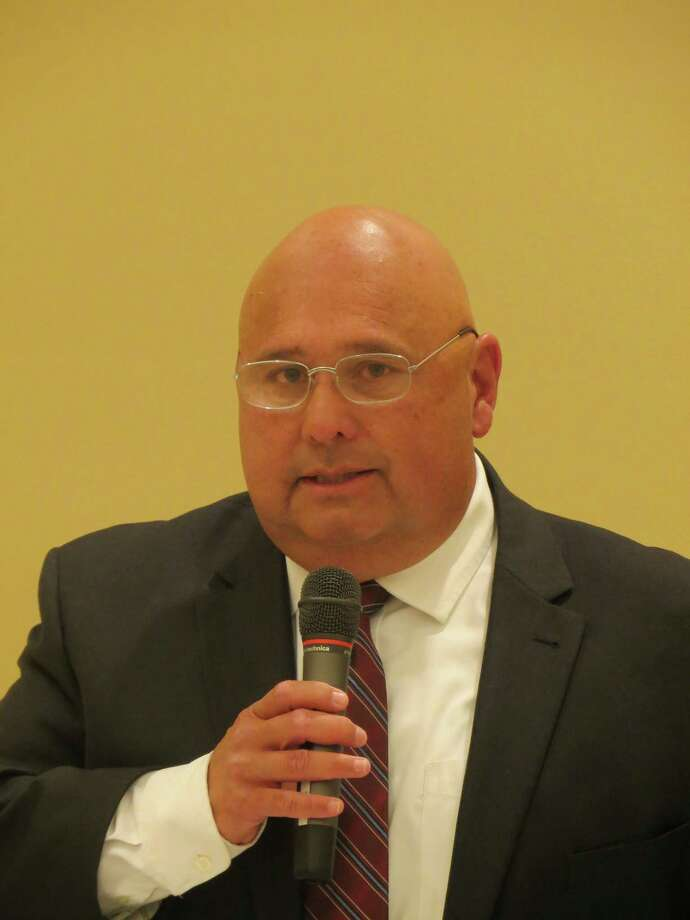 Chuck Pena is a candidate for mayor of Boerne in the May 6 election. Photo: Zeke MacCormack /Staff