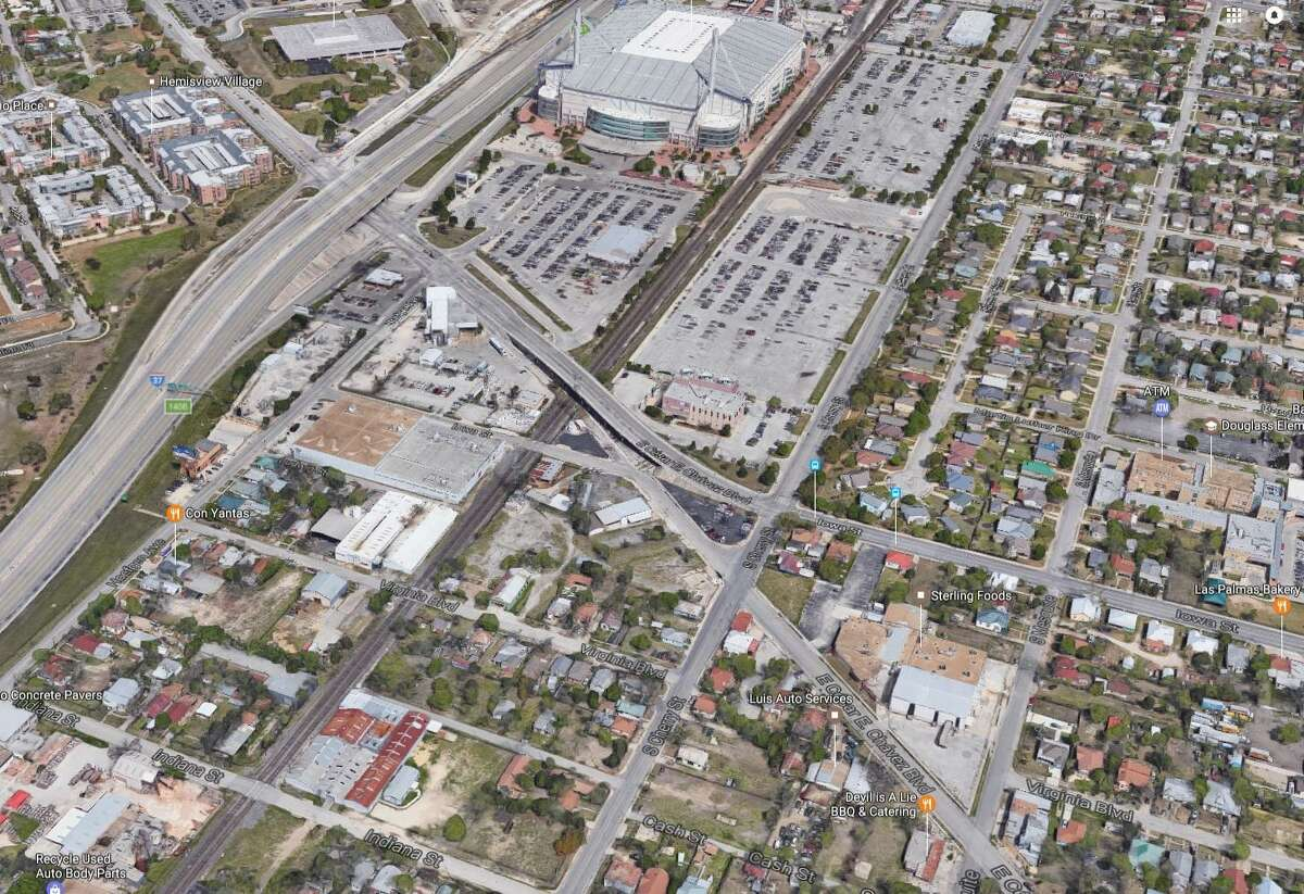 Houston-based real estate firm Rockspring Capital has purchased nearly an entire city block across the street from the Alamodome