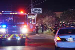 The San Antonio Police Department Chief said that an officer shot a man in the 200 block of North Zarzamora April, 20, 2017, after he was charged with a knife and his taser was ineffective.