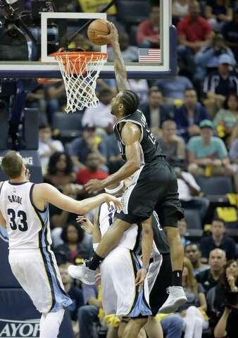 3ab641ee514 Spurs  Kawhi Leonard named to All-NBA first team - San Antonio ...