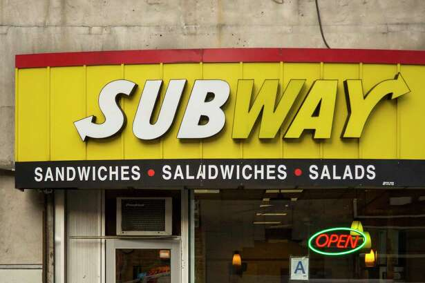 Subway's same-store sales decreased for the fourth straight month in March.
