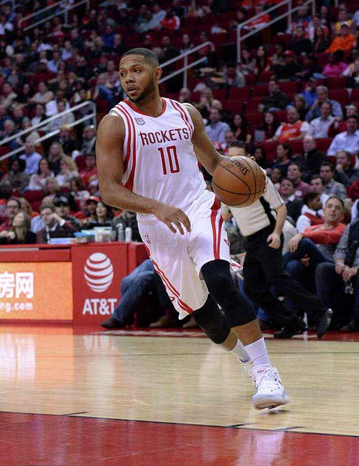 Eric Gordon set the NBA record for most 3-pointers made off the bench, hitting 206 of his career-high 246 3-pointers as the Rockets' sixth man. Photo: George Bridges, FRE / FR171217 AP