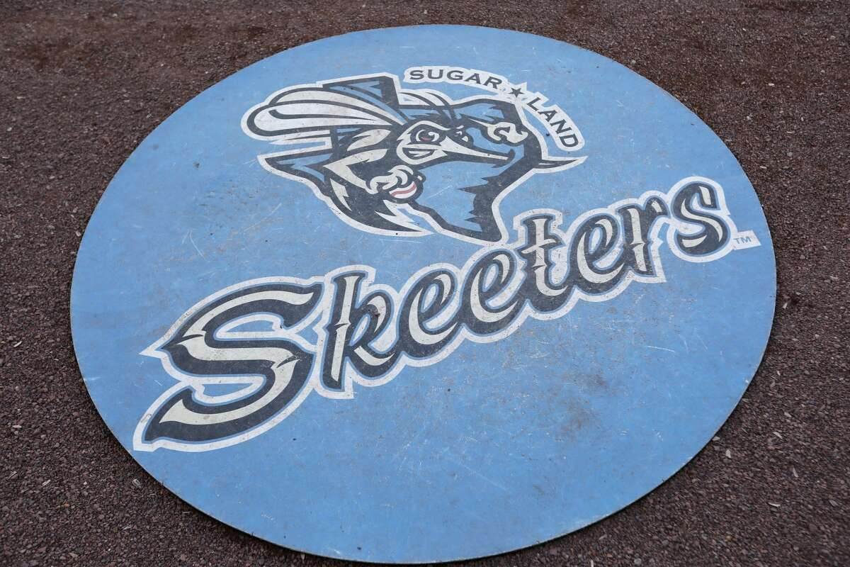 A view of the on deck circle before the Sugar Land Skeeter's Opening Day game against the Bridgeport Bluefish on Thursday, April 20, 2017 at Constellation Field in Sugar Land, Texas.