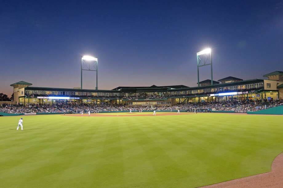 Opening night of the 2017 season for the Sugar Land Skeeters as the play the Bridgeport Bluefish on Thursday April 20, 2017 at Constellation Field, Sugar Land, TX. Photo: Craig Moseley/Houston Chronicle