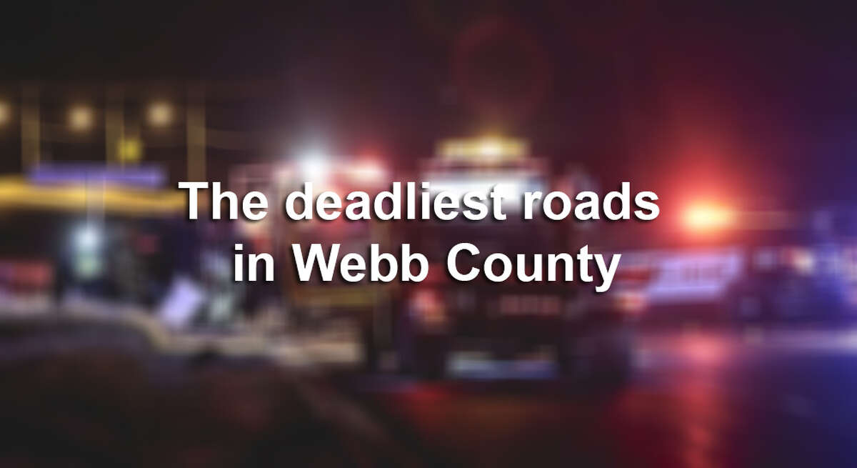Click through this gallery to see which roads in Webb County had the most fatal car accidents in 2015-16, according to data from TxDot.
