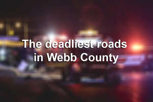 Click through the following gallery to see the deadliest roads in Webb County.
