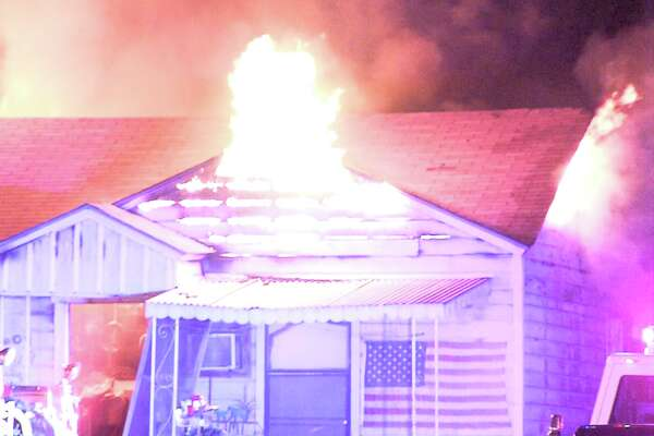 Firefighters went to extinguish the blaze around 1:45 a.m. on April 21, 2017, at a home in the 600 block of Linares Street. When they arrived, flames were shooting out of the home's attic.