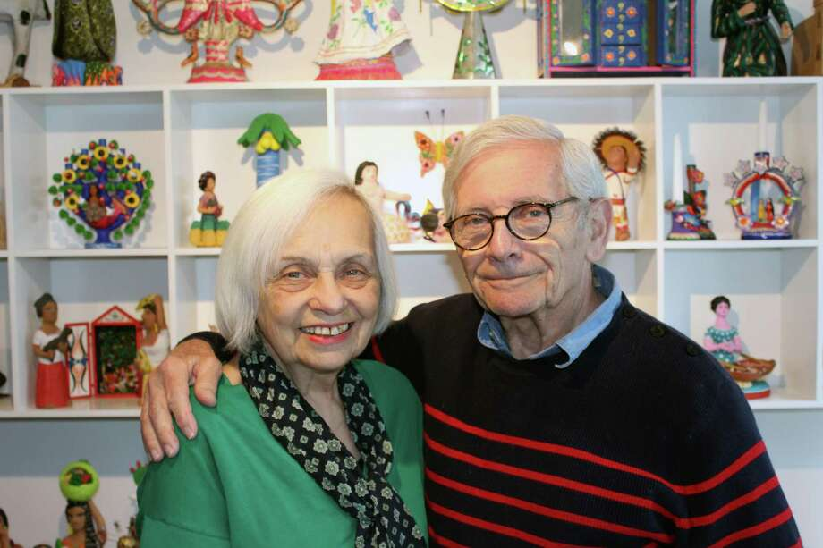 Trudy and Alan Goldberg's collection of Mexican folk art will be moved to the Mexican Museum in San Francisco, Calif., in mid-April. Photo: Justin Papp / Hearst Connecticut Media / New Canaan News