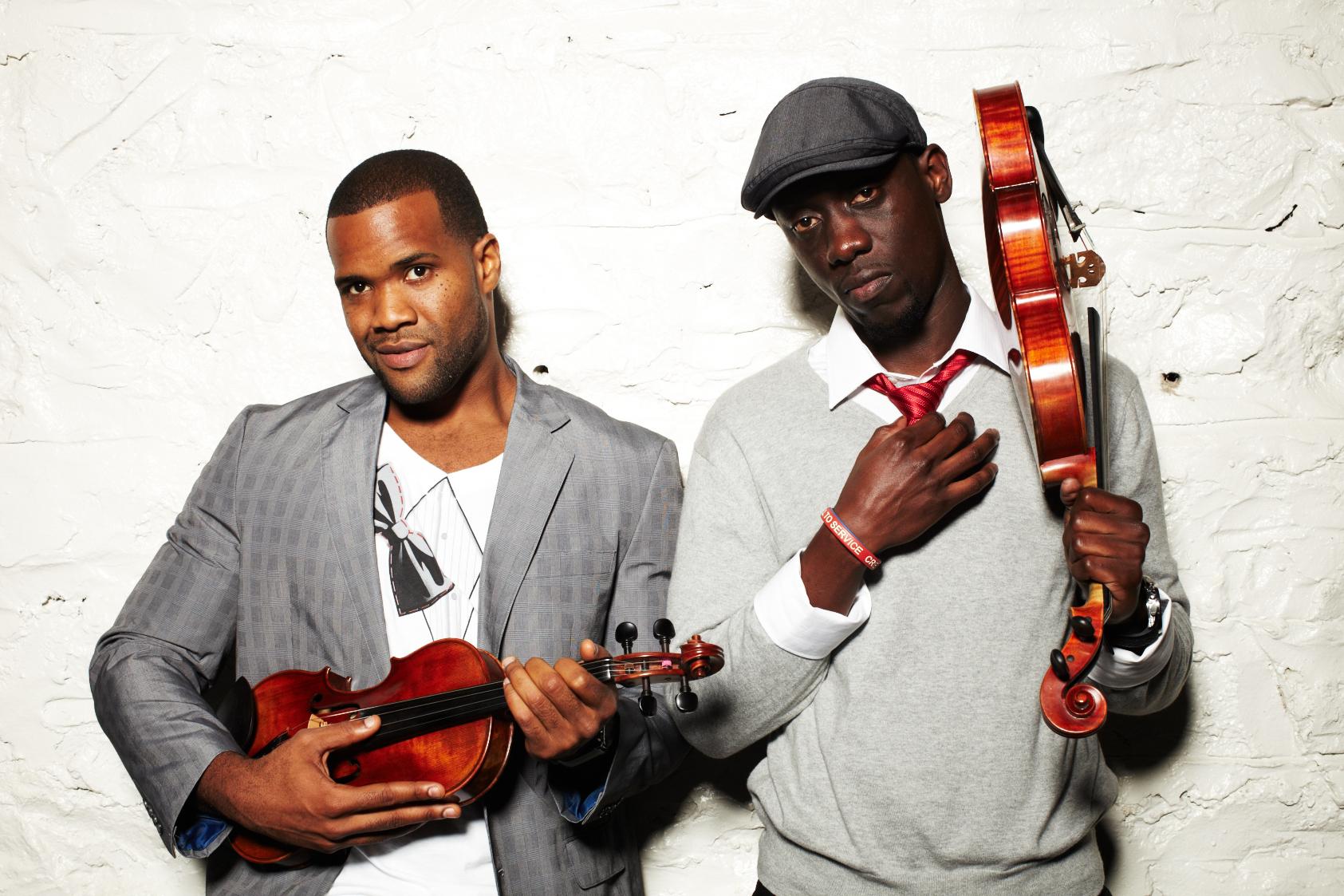 Black Violin bring joyous mix to Troy