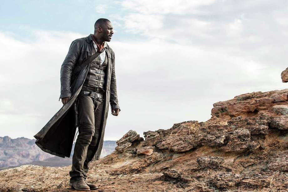 Roland Deschain (Idris Elba) in Columbia Pictures' The Dark Tower   Photo Credits: Ilze Kitshoff © 2016 CTMG, Inc. All Rights Reserved. / © 2016 CTMG, Inc.  All Rights Reserved. **ALL IMAGES ARE PROPERTY OF SONY PICTURES ENTERTAINMENT INC. FOR PROMOTIONAL USE ONLY.  SALE, DUPLICATION OR TRANSFER OF THIS MATERIAL IS STRICTLY PROHIBITED.