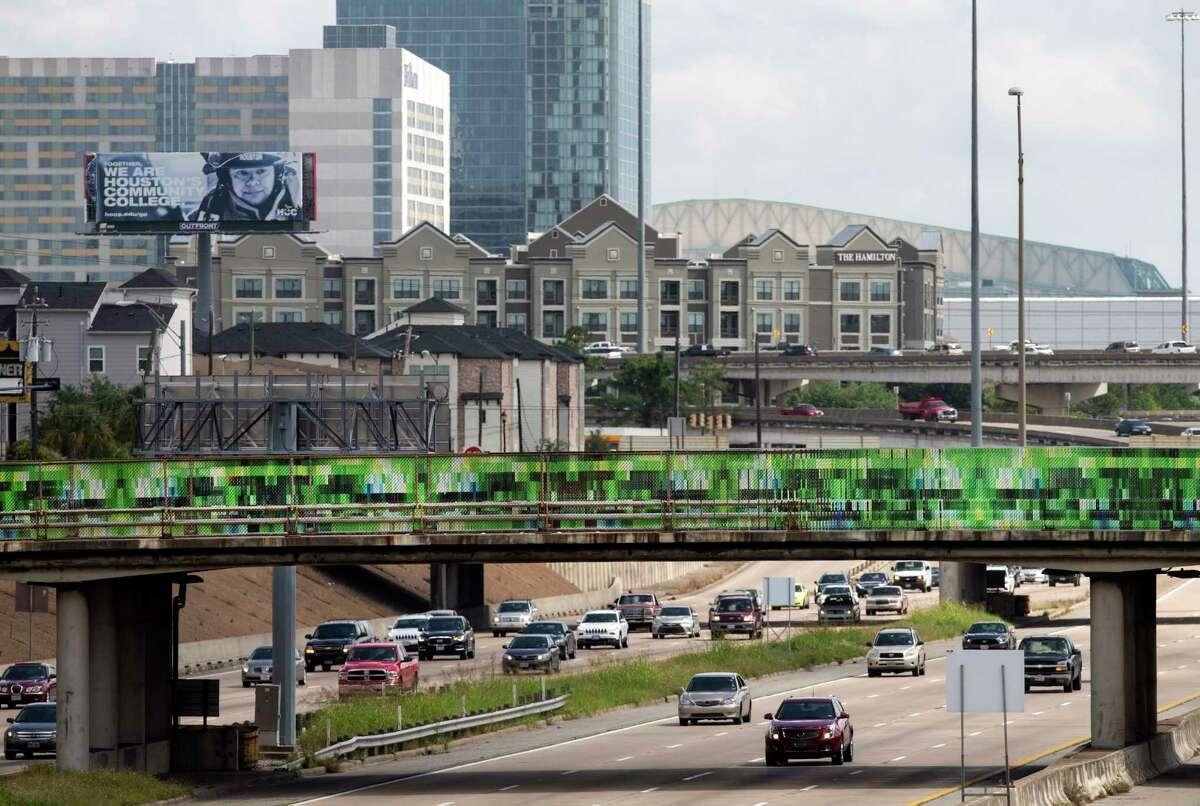 """Houston Bridges"" on Tuam Street."