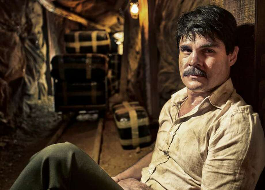 Marco De la O portrays Mexican drug lord 'El Chapo' (also known as Joaquin Guzman Loera)in a new Univision drama series that eventually will be carried on Netflix as well. Photo: Courtesy Of Univision